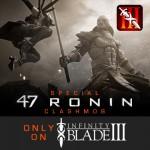 First Infinity Blade III ClashMob Features Keanu Reeves' '47 Ronin' Samurai Film