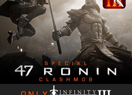 First Infinity Blade III ClashMob Features Keanu Reeves' '47 Ronin' Samurai Film