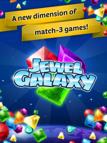 Jewel Galaxy Offers A Sparkling Zero-Gravity Match-3 Gaming Experience