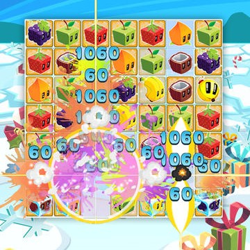 Rovio Stars' Tropical Match-Three Puzzler Juice Cubes Gets Wintry With Holiday Update