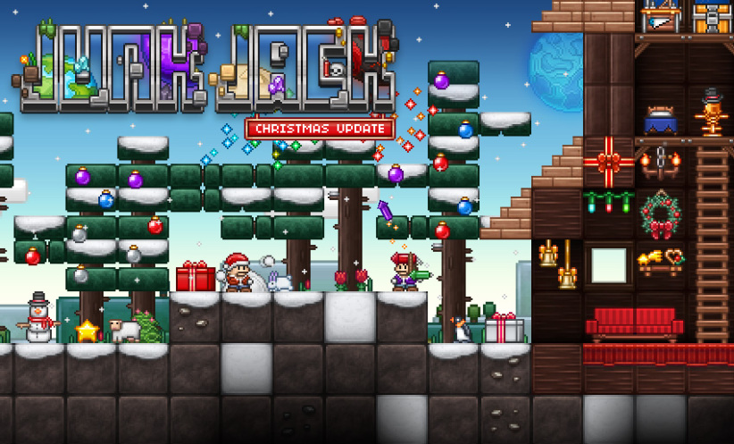 The Sandbox Game That Keeps On Giving: Junk Jack X Gets Huge Christmas Update