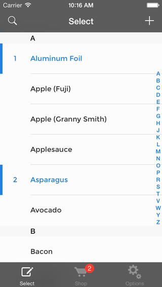 This Newly Updated Grocery List App Features Everything ... And The Kitchen Sync