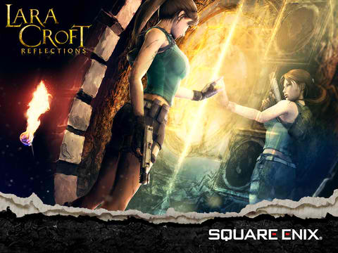 Square Enix Soft-Launches Tomb Raider Card Battle Game Lara Croft: Reflections