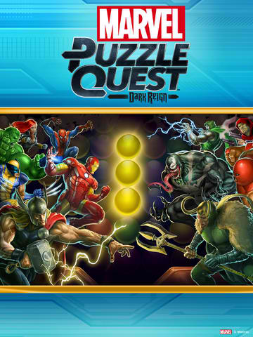 Marvel Puzzle Quest: Dark Reign Updated With Retina iPad Support And Other Tweaks