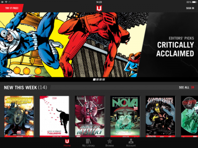 Marvel Unlimited Gets iOS 7 Design Refresh And More In Newly Issued Update