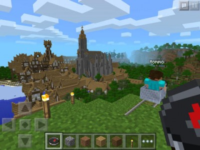 Minecraft - Pocket Edition Updated With Minecarts, New Items And Other Enhancements
