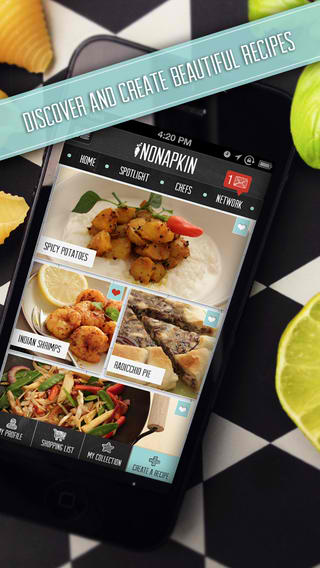 Looking For New Year's Feast Ideas? Check Out The Newly Updated NoNapkin App