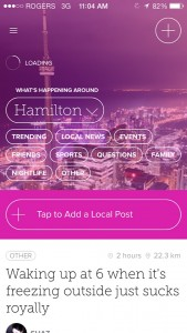 Gain A Sense Of Community Within Your Geographical Bubble Using Circle