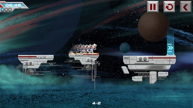 Embark On A Risky Galactic Adventure In Galaxy Run