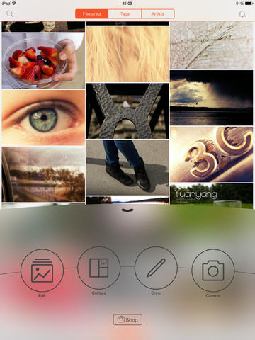 PicsArt Photo Studio 3.0 Features New Design And Navigation For iOS 7