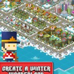 Build A Winter Wonderland And Splice The Ice With Pixel People's Holiday Update
