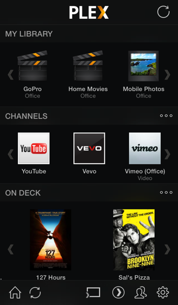 Plex App Redesigned For iOS 7, Updated With New Media Player And Various Fixes
