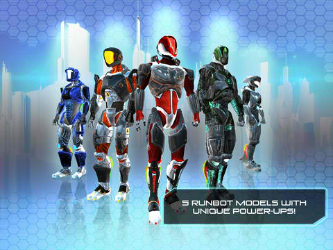 Sci-Fi Endless Runner RunBot Goes 2.0 With New Models, Custom Skins And Missions