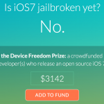 New Campaign Seeks Help To Fund An iOS 7 Jailbreak Reward