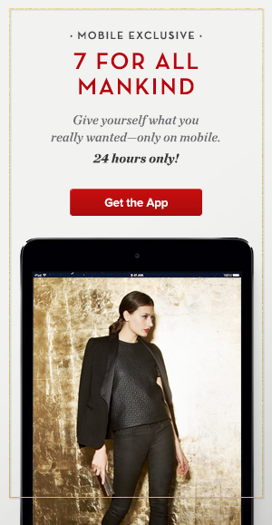 Enjoy Mobile-Exclusive Deals On Designer Brands With Gilt's Mobile Week Sale