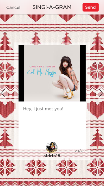 Create And Send Sing!-A-Grams This Holiday Season With Sing! Karaoke By Smule