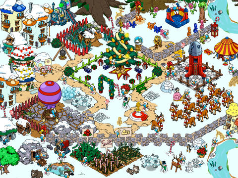 Smurfs' Village Gets Royally Updated For One Smurftastic Holiday Season