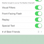 Snapchat 6.1 Features Smart Filters, Front-Facing Flash And Other Additional Services