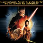 Star Wars: Knights Of The Old Republic Goes Half-Price As It Goes Universal For iPhone