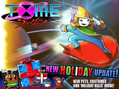 This Fun And Festive Season, Spend Time Surfing Across Holiday Hills In Time Surfer