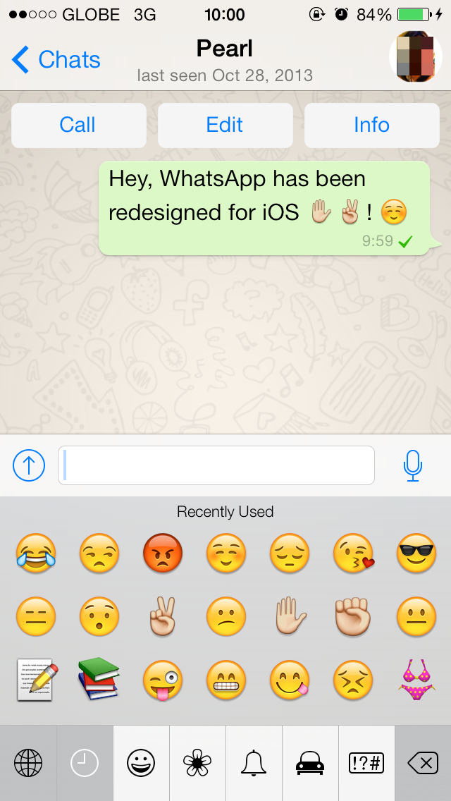WhatsApp Messenger Finally Redesigned For iOS 7, Updated With Broadcast Lists And More