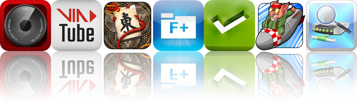 Today's Apps Gone Free: CameraBag 2, VIATube, Mahjong Epic And More