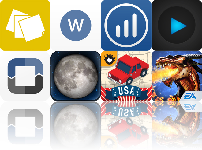 Today's Apps Gone Free: Sticky Notes HD, Wordbox, Strides And More