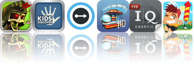 Today's Apps Gone Free: Skull Legends, Antarctica, Converti And More