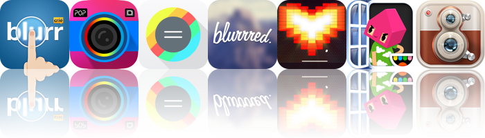 Today's Apps Gone Free: Blurr, Popkick, Mathtastical And More