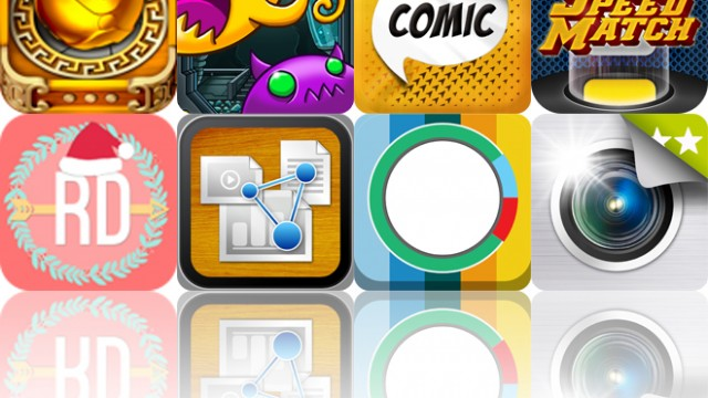 Today's Apps Gone Free: Slingshot Puzzle, Linkoidz, Comic Story And More