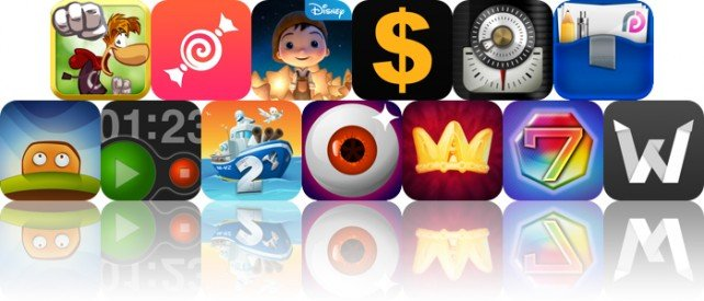 Today's Apps Gone Free: Rayman Jungle Run, Tipulator, La Luna And More