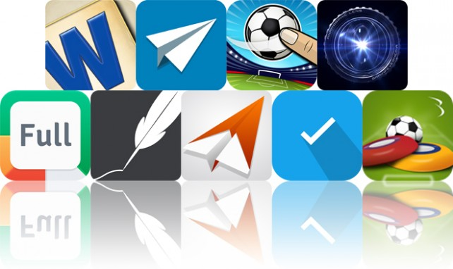 Today's Apps Gone Free: Full Deck Word Games, IDEAZ, Flick Soccer! HD And More