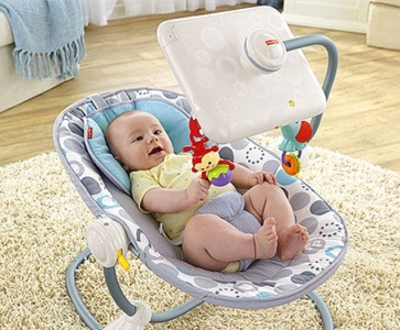 Say What? Fisher-Price Introduces A New iPad Bouncy Seat For Infants