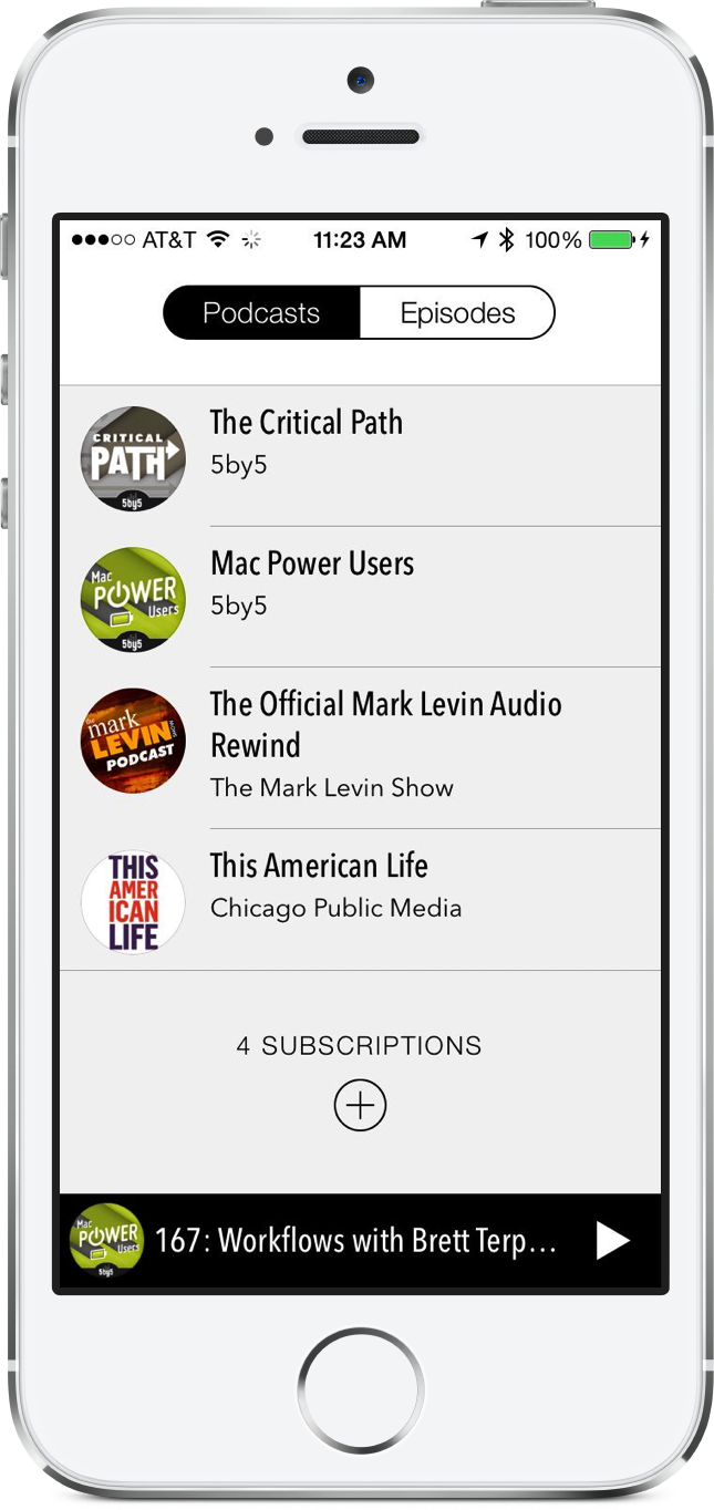 Castro Wants To Become Your Favorite iPhone Podcast App