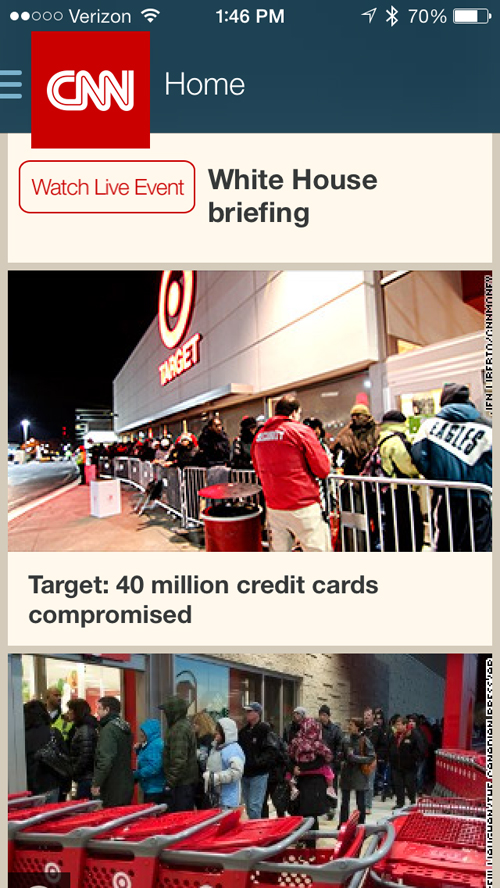This Just In: CNN's iOS Apps Updated With An iOS 7 Inspired Design