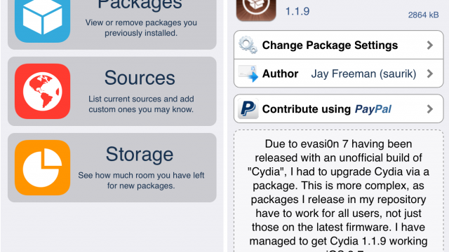 Jailbreak News: Cydia Has Been Updated With A New Design For iOS 7
