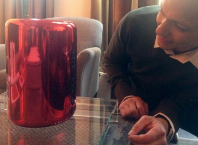 Tony Fadell, 'Father' Of The iPod, Shows Off The Specially Designed EarPods, Mac Pro