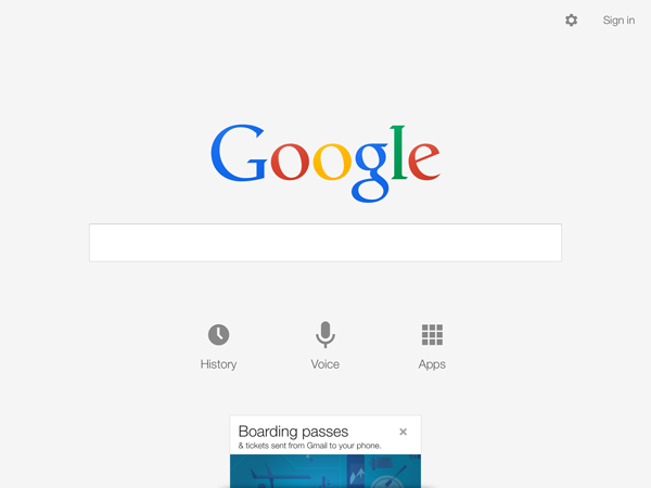 Google Search Update Brings iOS 7 Inspired Design And More