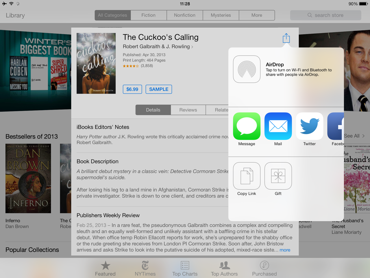 Apple Finally Enables Gifting Option In iBooks Store Just In Time For The Holidays