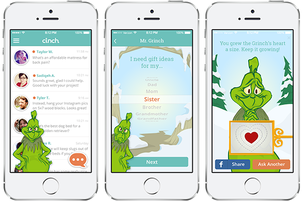 Don't Be A Grinch, Let Cinch Help You Find The Perfect Last Minute Christmas Gifts