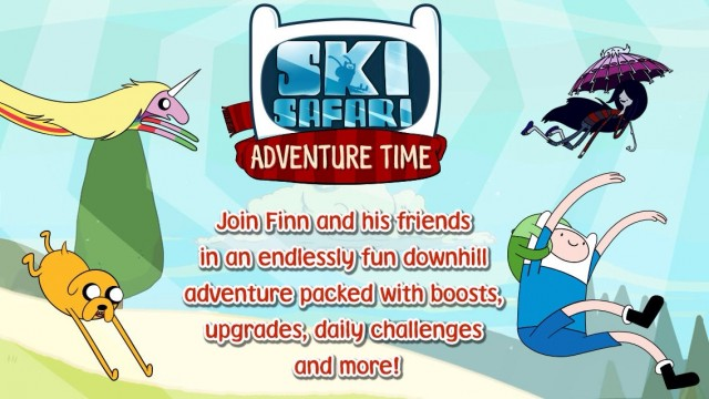 Ski Safari: Adventure Time Spin-Off Crosses The Finish Line, Reaches The App Store