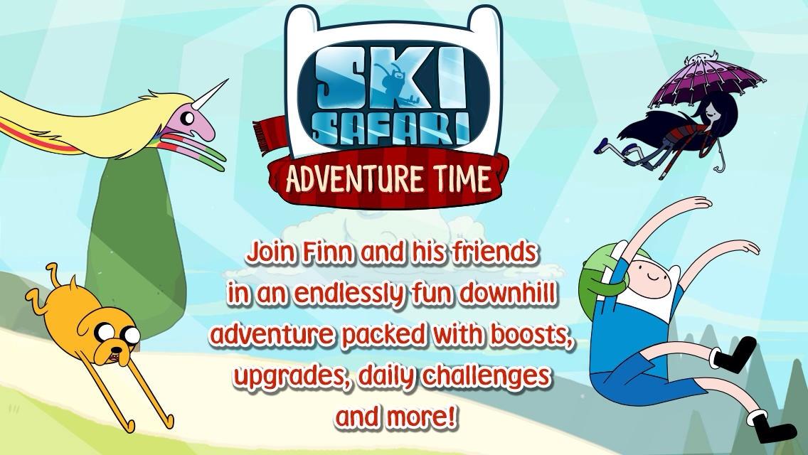 Ski Safari: Adventure Time Spin-Off Crosses The Finish Line, Reaches The App Store
