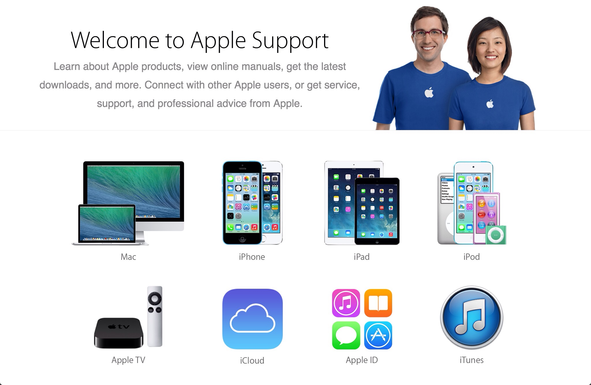 Apple Updates Its Apple Support Website, Adds A More Minimalistic Design