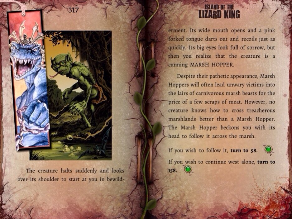 There's A New Fighting Fantasy Game-Book For iOS: Island Of The Lizard King