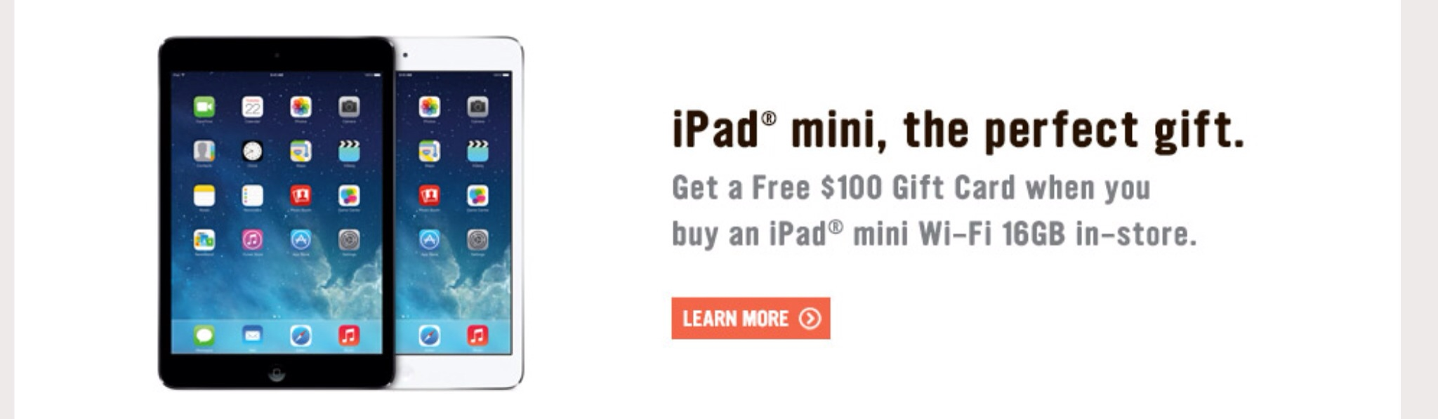 RadioShack Offering $100 Gift Card With iPad mini Purchases For The Holidays