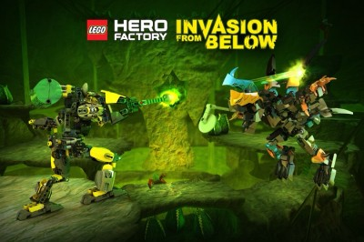LEGO Hero Factory Invasion From Below To Reach The App Store Next Month