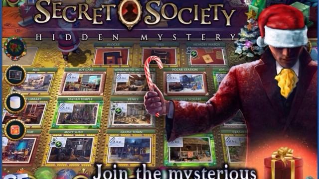 The Secret Society Gets A Festive Update In Time For The Holidays