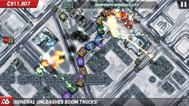 Control A Giant Chain-Linked Monster In Halfbrick's Colossatron: Massive World Threat