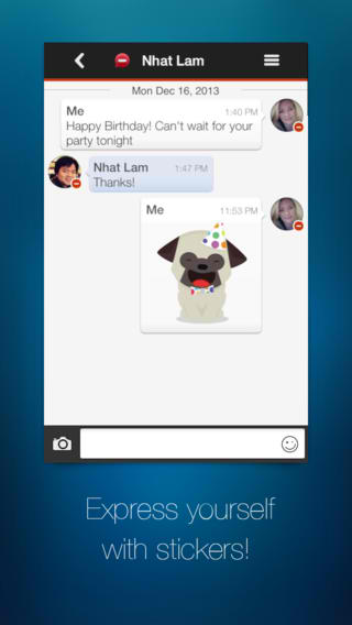 Getting Sticky With It: Imo Messaging App Finally Updated With Stickers