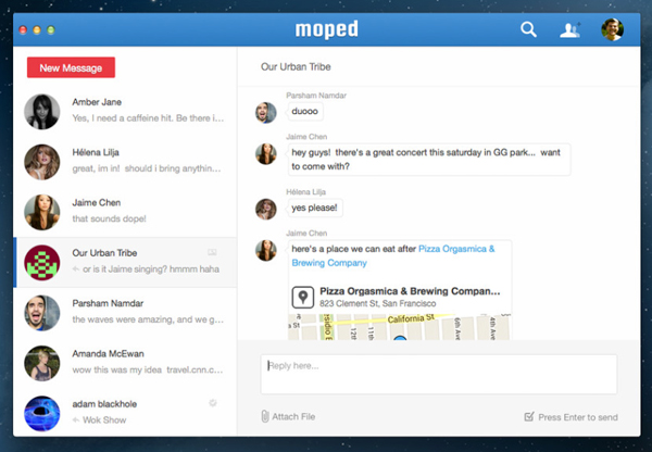 Group Messaging Service Moped Acquired By Wunderlist Developer